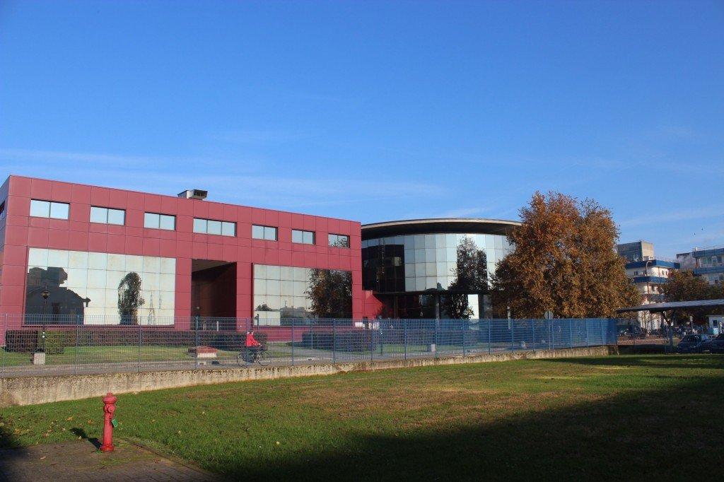 Melanzana library building, Pavia