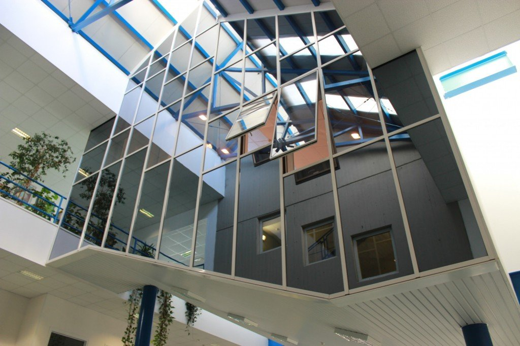 First year hall from outside