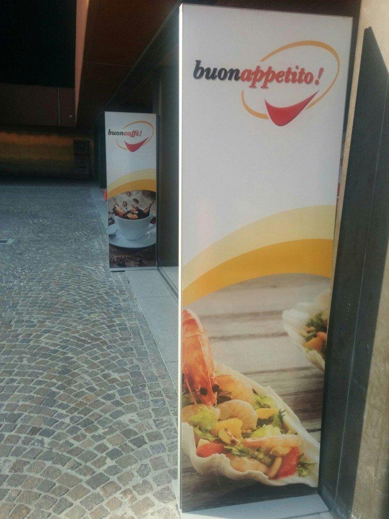 Outside BuonAppetito! restaurant