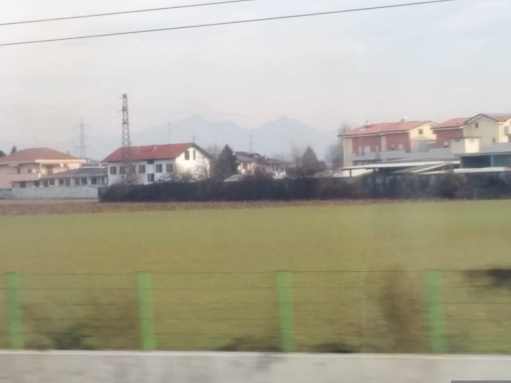 Houses with Alps