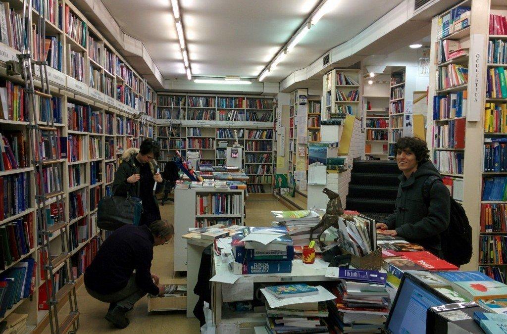 Milan Has, Possibly, the World's Best English-Language Medical Bookstore
