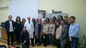 (Also from english conference) Some of BEMC students with course coordinator portincasa