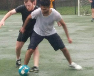 IMS Milan Football Season Opener: 2nd-Years Win in Pouring Rain