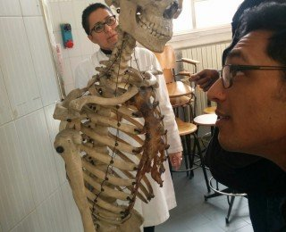 Inside the Anatomy Labs at the University of Milan