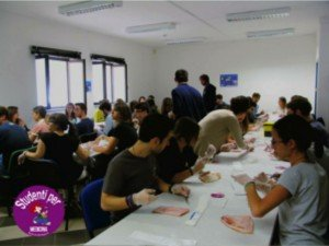 Student Association Suturing Course
