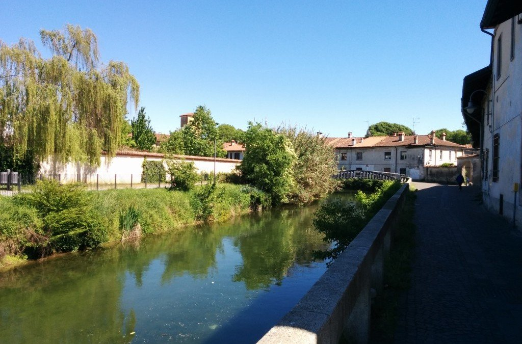 Cycling Around the Milan Countryside