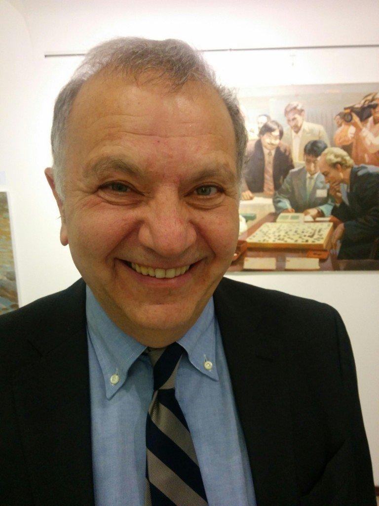 "Pier Luigi Cecioni, curator of ""North Korea: A Country's Art and Tradition to Discover"""