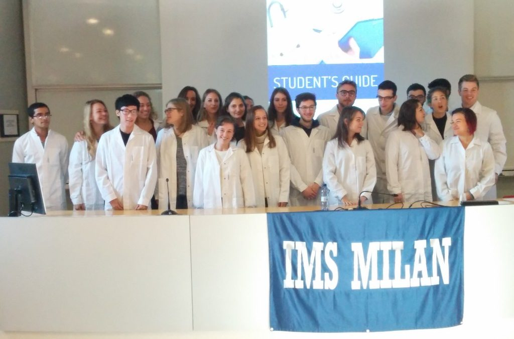 Student Xhorxhi Kaçi's Welcome Speech at IMS Milan White Coat Day